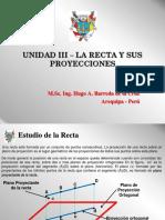 Diapo 04 - Unidad III - La Recta y Sus Proyecciones