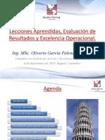 10. Lecciones Aprendidas_ppt_Oliverio García Palencia_V QT_Colombia 2013