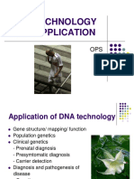 Zzzzzz Dna Technology and Application