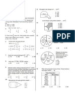 Latihan Ujian Semester 1 Matematika kelas 6 SD