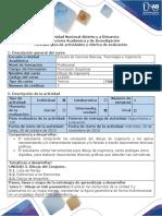 Guía de Actividades y Rúbrica de Evaluación - Tarea 3 - Dibujo en CAD Paramétrico