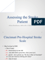 Assessing the Stroke Patient Boudreaux 2013