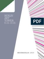 Messekatalog Berlin Art Tower