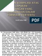 PSAR No. 03 Laporan Kompilasi Atas Laporan Keuangan Yg Dimaksukkan Dlm Formulir Tertentu (SAR Seksi 300)