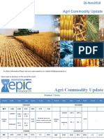 Daily Agri Report 26 Nov 2018 by Epic Research