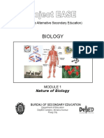 Biology M1 Nature of Biology.doc