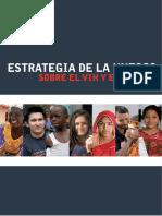 Estrategia Unesco Vih
