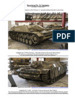 Surviving Panzer IV Variants