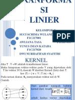 Aljabar Liner Elementer (Ale)