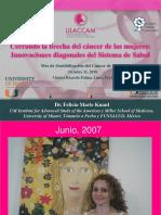 Cerrando La Brecha Del Cancer de La Mujer