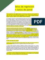 Datos Panel