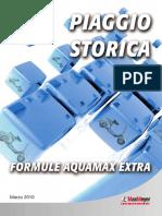 Opuscolo Formule Storiche Piaggio in Aquamax
