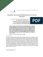 Durability assessment methodology