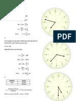 Horas razonamiento matematico