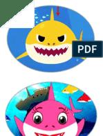 Baby Shark Mask Template