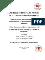 138- Ttg - Diseño de Un Programa de Mantenimiento Productivo Total Tpm en El Área de Conversion de La Empresa Cellux Colombiana s.a.