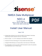 NDC 4 a Full User Manual Issue 1.09