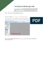 Cách Mở File Excel Bị Khóa Chi Tiết Đơn Giản Nhất