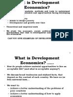 Development Economic