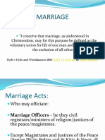 Marriage & Nullity
