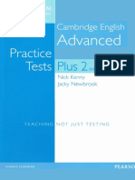 Nick Kenny, Jacky Newbrook - CAE Practice Tests Plus 2 2015