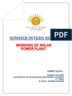 Summer Intern- Report
