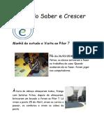 Jornal Do Saber e Crescer