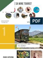 Visit Winelands Presentation - Business Wine & Food Tourism Conference