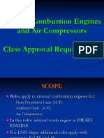 7.Internal Combustion Engines for Class Approval