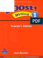 Boost Writing 1 Teacher s Book