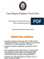 case report diabetic foot