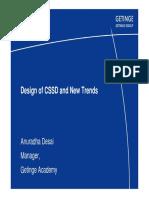 Ms. Anuradha Desai - Design of CSSD