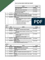 JADWAL PELATIHAN ASESOR KOMPETENSI PERAWAT 2013.doc