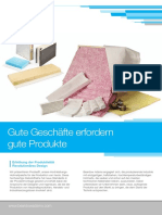 Product Assembly Brochure German