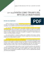 Ferres - La Televisión Como Triunfo Del Mito de La Objetividad