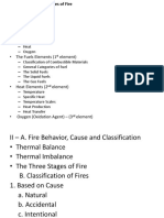 Arson Topic Outline
