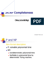 34 NP Completeness