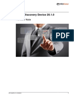TEMS Discovery Device 20.1.0 Release Note