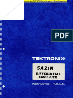 Tektronix 5a21n Op Service Manual-001-006