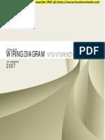 Volvo Xc70 - 2007 v70 v70r Xc70 Xc90 Wiring Diagram