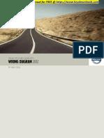 Volvo XC70 (08-) - 2012  VOLVO V70 (08-), XC70 (08-) & S80 (07-) WIRING DIAGRAM