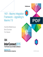 InterConnect2015 1431 MIF 7.6 Upgrade