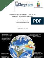 Desafíos Que Enfrenta Chile en Un Contexto de Cambio Climático- Dr. Santibañez