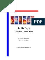 In Six Days - The Genesis Creation Debate