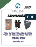 Manual MCX HD - Guia Instalação Rápida - Rev 1.0