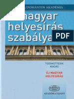 846111aa77 A Magyar Helyesiras Szabalyai 12.Kiadas
