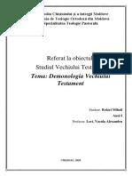 Demonologia Vechiului Testament