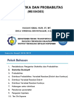200194_tm_dua_statistika & Probabilitas (Ms181403)_ganjil 2018-2019