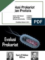 Ppt Evolusi Prokariot Protista