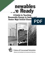 Renewables Ready Curriculum